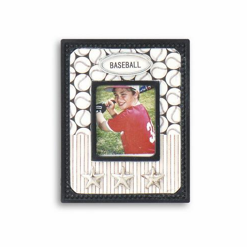 Mini Magnetic Baseball Photo Frame