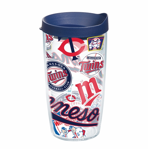 Minnesota Twins All Over Wrap Set of Cups with Lids by Tervis