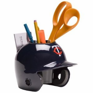 Minnesota Twins Baseball Helmet Desk Caddy<br>ONLY 4 LEFT!