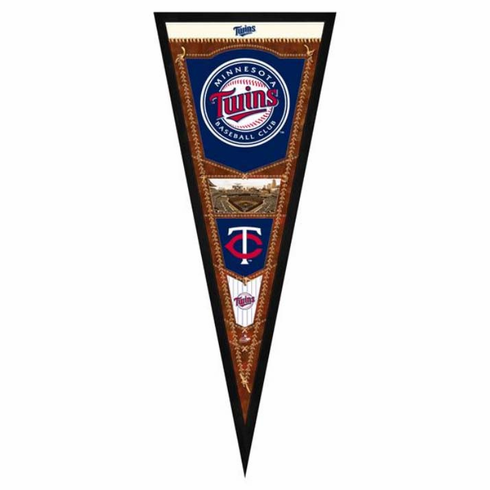 Minnesota Twins Framed Pennant Sign
