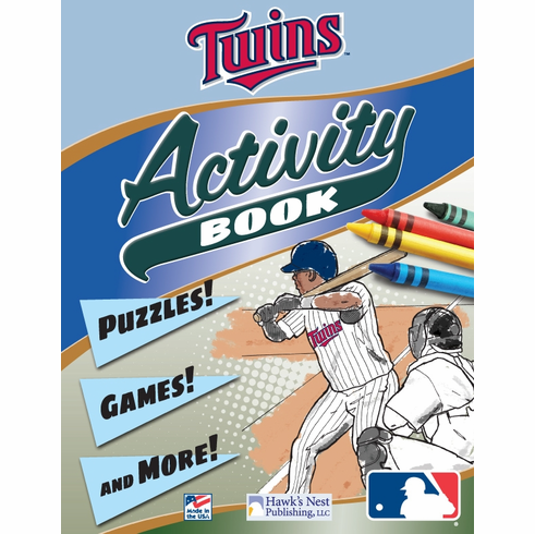 Minnesota Twins MLB Activity Book