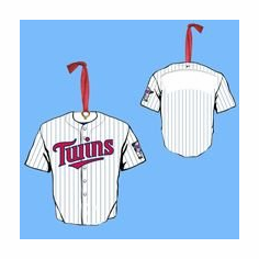 Minnesota Twins Personalized Jersey Ornament<br>ONLY 1 LEFT!