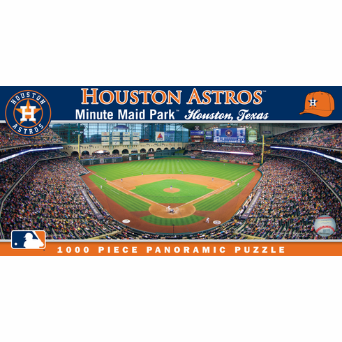 Minute Maid Park Houston Astros 1000pc Panoramic Puzzle<br>LESS THAN 4 LEFT!