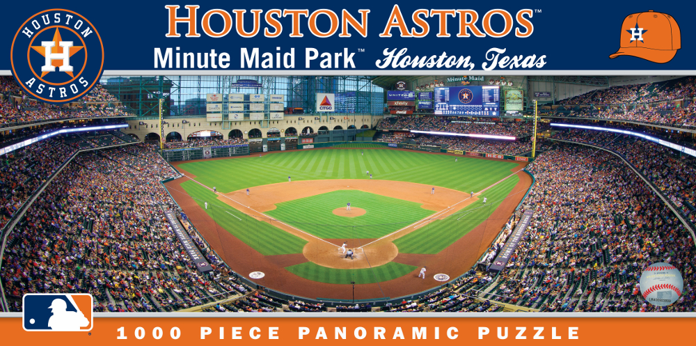 Minute Maid Park Houston Astros 1000pc Panoramic Puzzle<br>LESS THAN 8 LEFT!