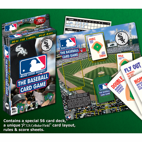 MLB Baseball Card Game - Chicago White Sox Edition<br>ONLY 2 LEFT!