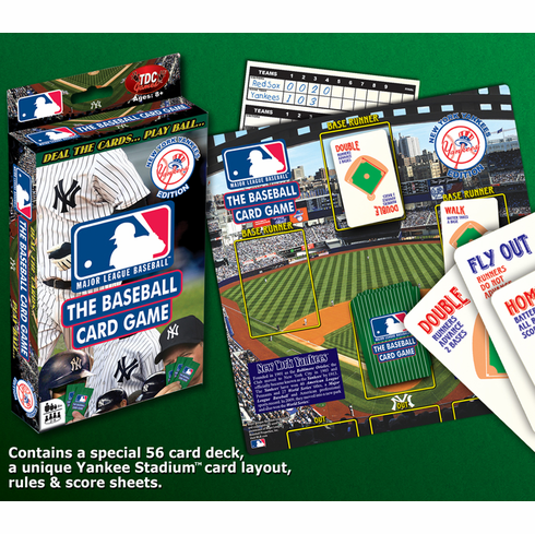 Mlb Baseball Card Game New York Yankees Editionbronly 3