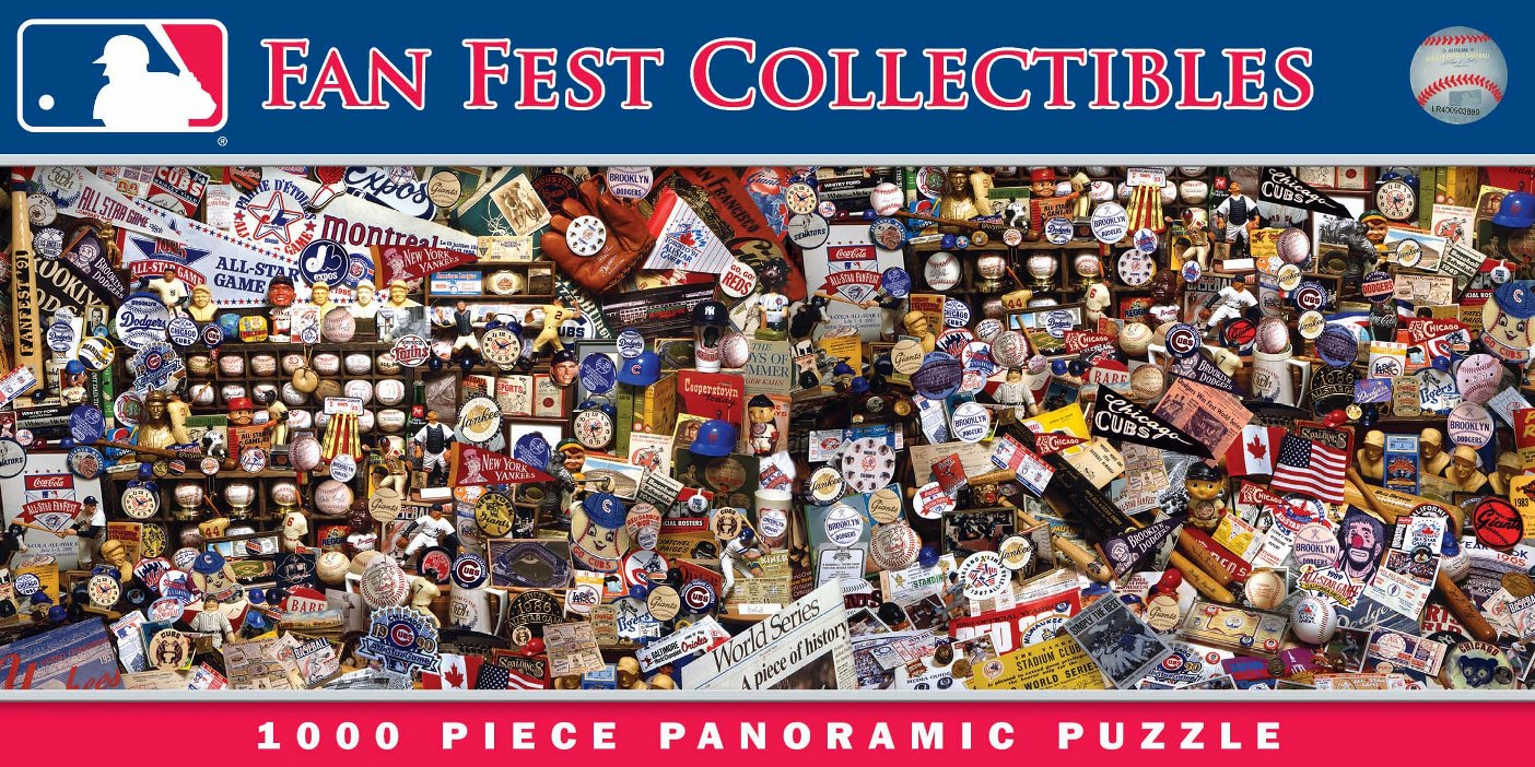 MLB Fan Fest Collectibles 1000pc Panoramic Puzzle