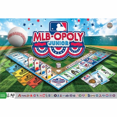 MLB-OPOLY JUNIOR Collector's Edition Set<br>LESS THAN 8 LEFT!