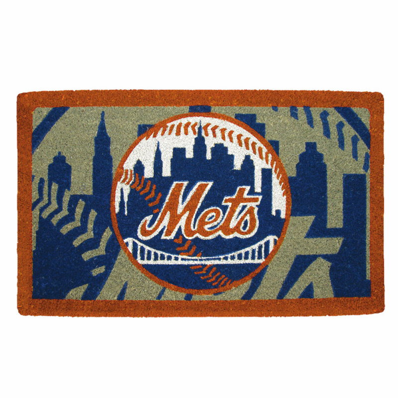 MLB Team 18x30 Welcome Mats<br>Giants, Mets, or Mariners!