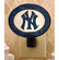 MLB Team Art-Glass Nightlight<br>BRAVES, YANKEES