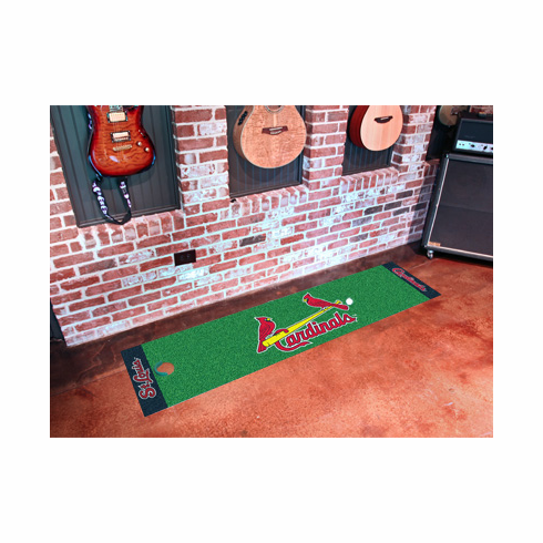 MLB Team Logo Golf Putting Green Mats