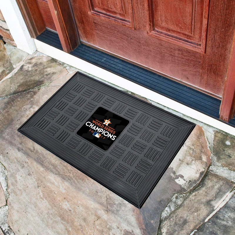 MLB Team Logo Vinyl Doormat