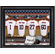 MLB Team Personalized Locker Room 11x14 Framed Print