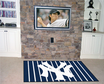 MLB Team Plush Area Rugs