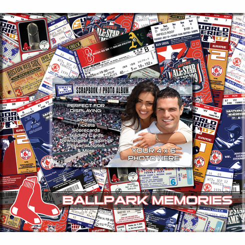 MLB Team Ticket and Photo Scrapbook