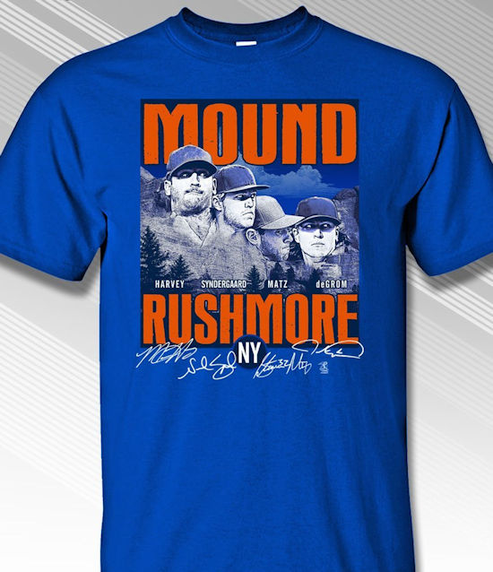 Mound Rushmore New York T-Shirt<br>Short or Long Sleeve<br>Youth Med to Adult 4X