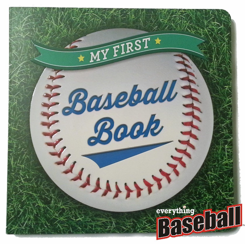 My First Baseball Book Board Book