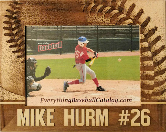 Name And Number Personalized Baseball Photo