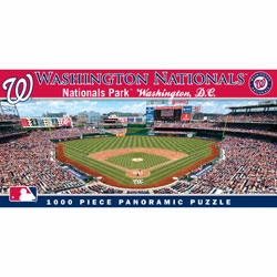 Nationals Park Washington Nationals 1000pc Panoramic Puzzle<br>ONLY 5 LEFT!