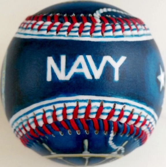Navy Military Baseball<br>SOLD OUT!