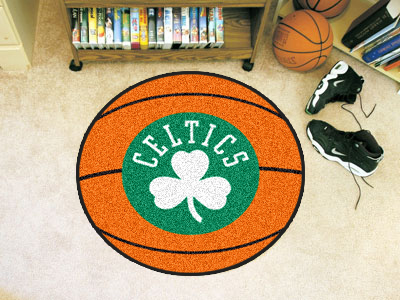 NBA Team Logo 27inch Round Basketball Rugs