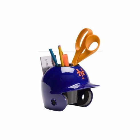 New York Mets Baseball Helmet Desk Caddy