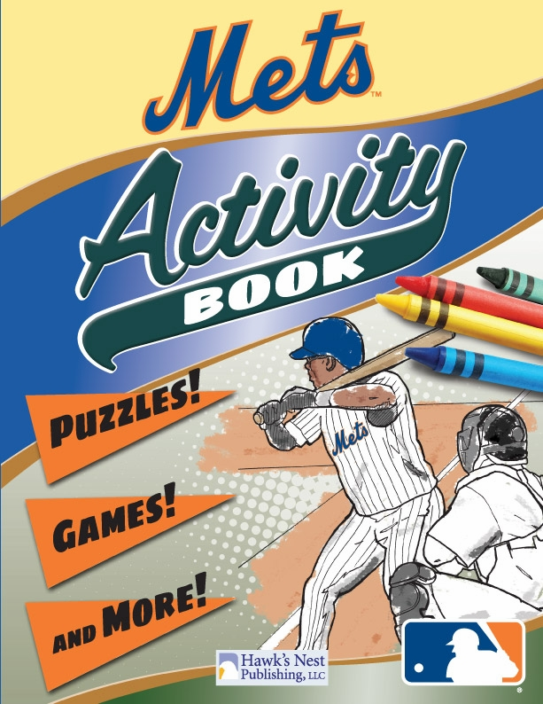 New York Mets MLB Activity Book