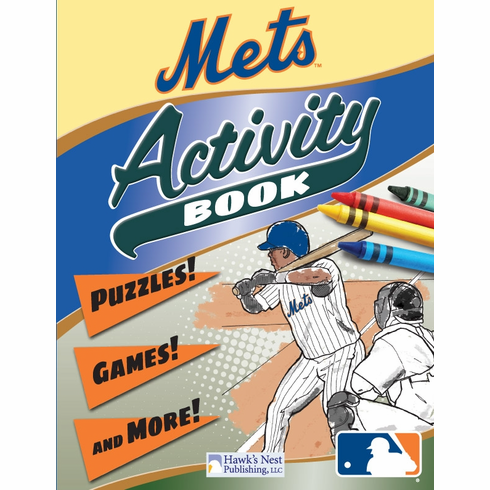 New York Mets MLB Activity Book<br>ONLY 3 LEFT!