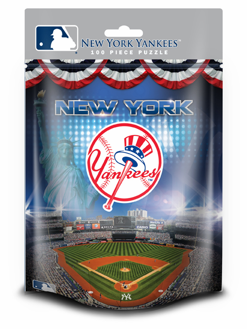 New York Yankees 100pc Pouch Puzzle<br>ONLY 3 LEFT!