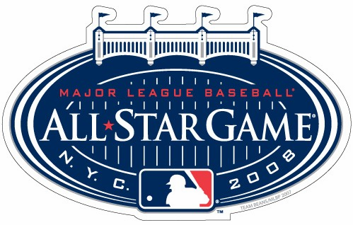 New York Yankees 2008 All Star Game Car Magnet