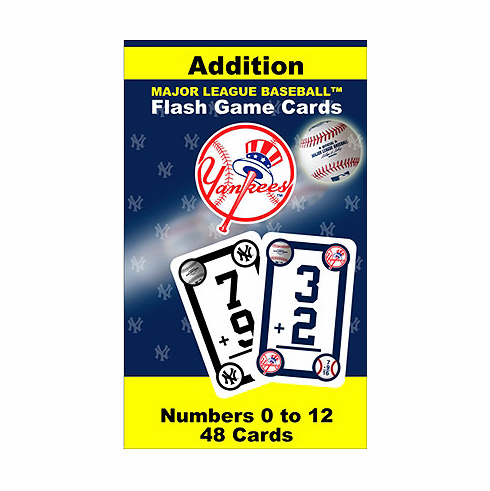 WEEKLY SPECIAL #16<br>New York Yankees Addition Flash Cards
