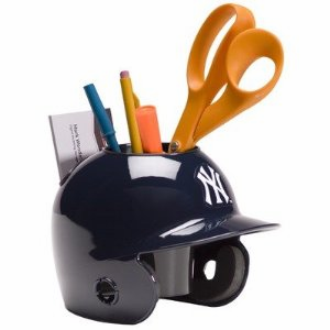 New York Yankees Baseball Helmet Desk Caddy<br>LESS THAN 10 LEFT!