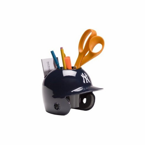New York Yankees Baseball Helmet Desk Caddy