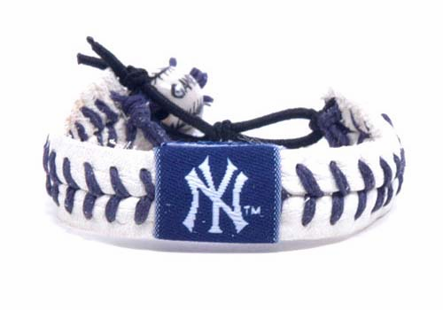 New York Yankees Baseball Seam Bracelets