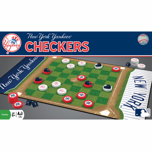 New York Yankees Checkers<br>ONLY 1 LEFT!