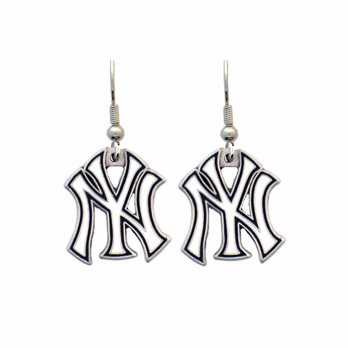 New York Yankees Dangle Earrings