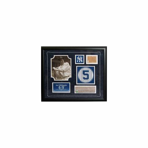 New York Yankees Greats Monument Park Brick & Game Used Dirt Framed Collage<br>ONLY 1 BABE RUTH LEFT!