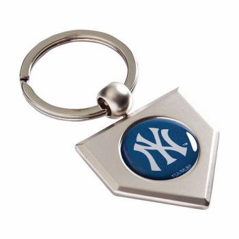 New York Yankees Home Plate Key Chain