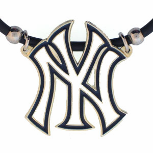 New York Yankees Large Pendant Necklace