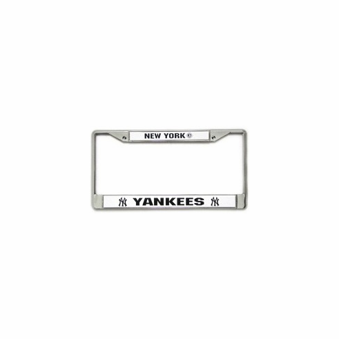 New York Yankees Chrome License Plate Frame<br>ONLY 3 LEFT!