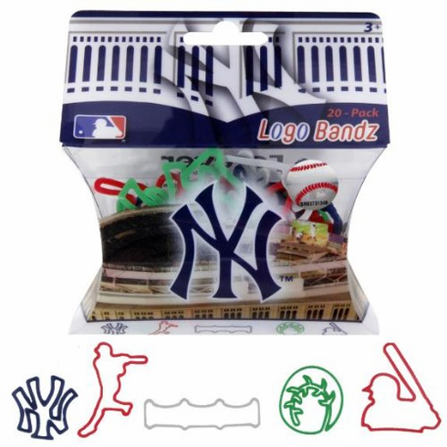 New York Yankees Logo Bandz 20-Pack Yankee Shapes<br>ONLY 2 LEFT!
