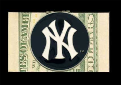 New York Yankees Logo Money Clip<br>ONLY 2 LEFT!