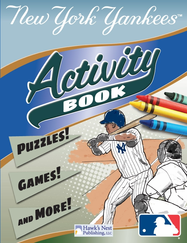 New York Yankees MLB Activity Book