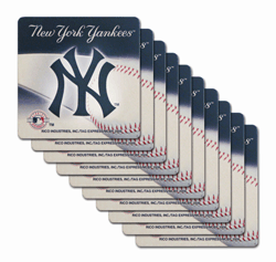 New York Yankees Premium Paper Coaster Set<br>ONLY 1 SET LEFT!