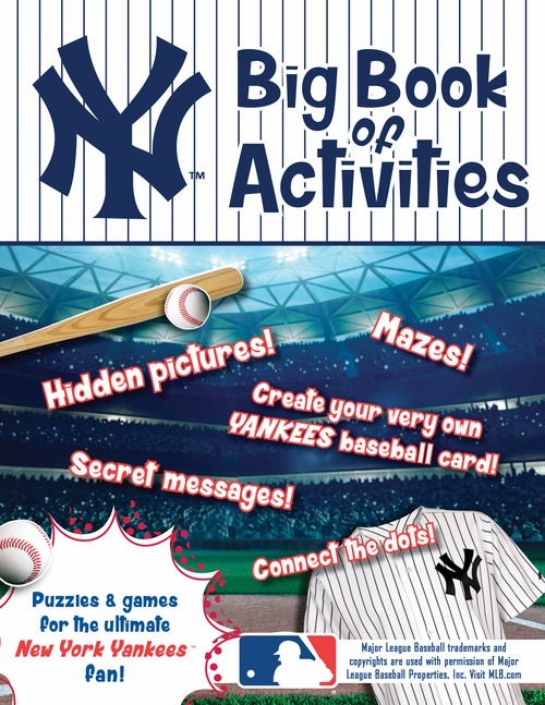 New York Yankees: The Big Book of Activities
