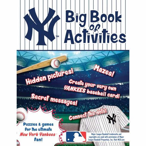 New York Yankees: The Big Book of Activities<br>ONLY 2 LEFT!