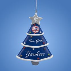 New York Yankees Christmas Tree Resin Ornament<br>ONLY 2 LEFT!