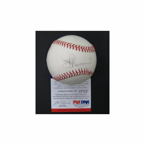NFL Hall of Famer Joe Theisman Signed ONL Baseball PSA DNA<br>ONLY 1 AVAILABLE!