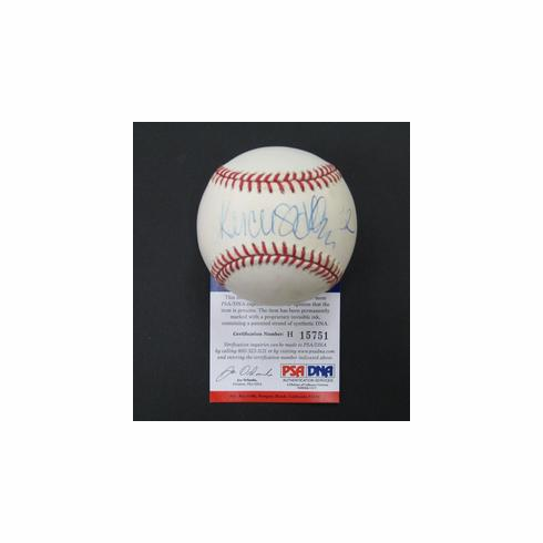 NFL Hall of Famer Marcus Allen Signed OAL Baseball PSA DNA<br>ONLY 1 AVAILABLE!