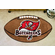 NFL Team Logo Football Shaped Rugs